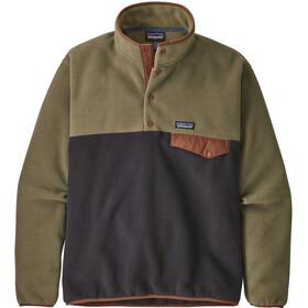 Patagonia Lightweight Synchilla Snap-T Pullover Men Sage Khaki